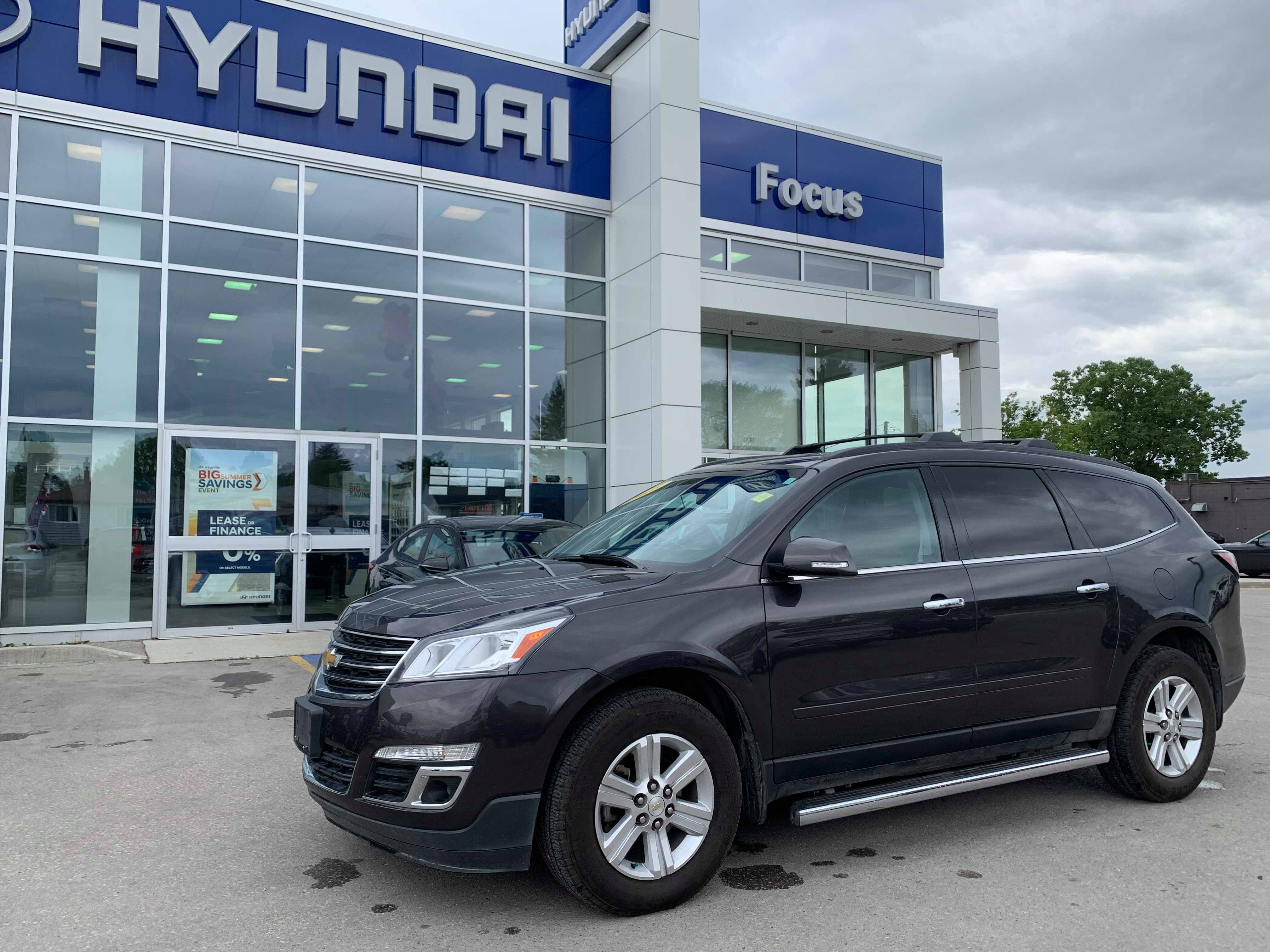 Pre-Owned 2013 Chevrolet Traverse 2LT AWD