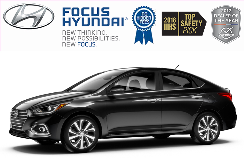 New 2019 Hyundai Accent (4) Preferred at