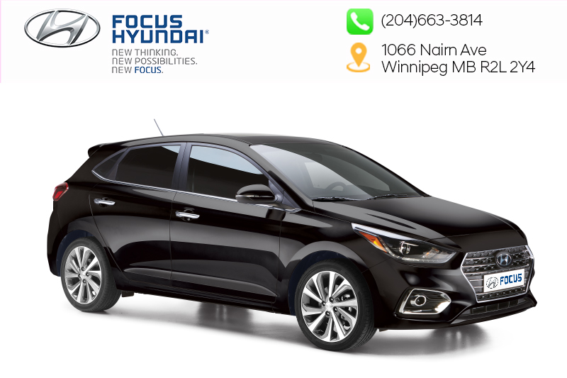 New 2019 Hyundai Accent (5) Preferred at