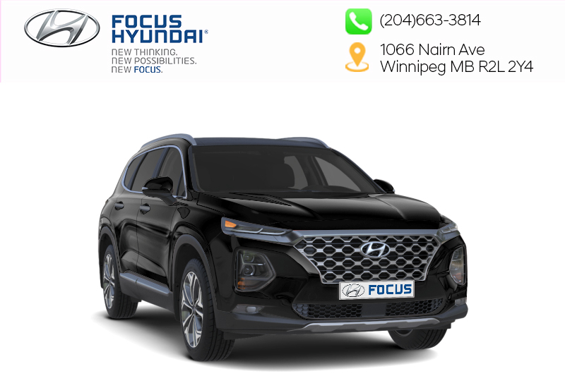 New 2019 Hyundai Santa Fe Essential AWD 2.4L Safety Package Dark Chrome