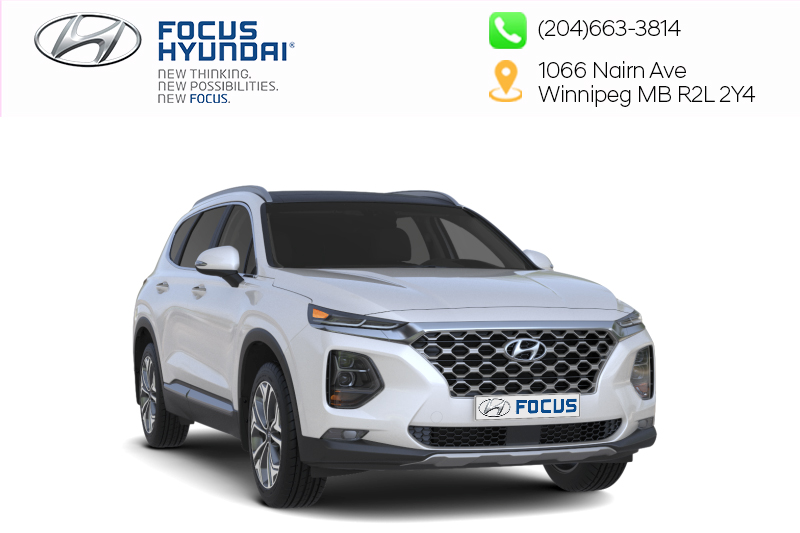 New 2019 Hyundai Santa Fe Essential AWD 2.4L Safety Package