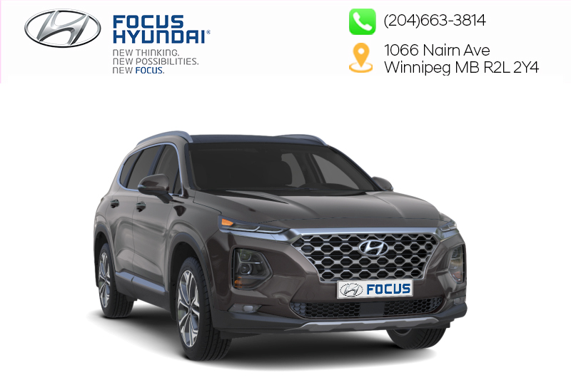 New 2019 Hyundai Santa Fe Luxury AWD 2.0T