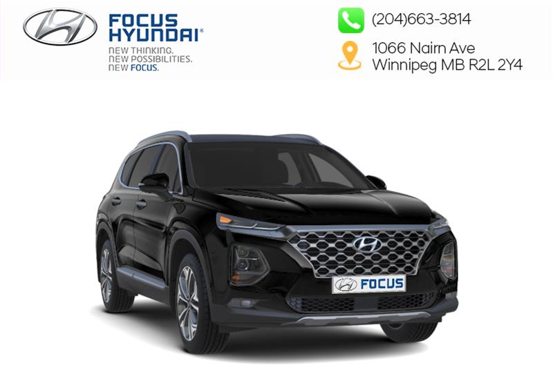 New 2019 Hyundai Santa Fe Preferred AWD 2.4L Dark Chrome