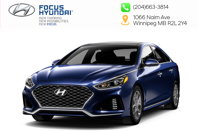 New 2019 Hyundai Sonata Essential w/ Sport Package