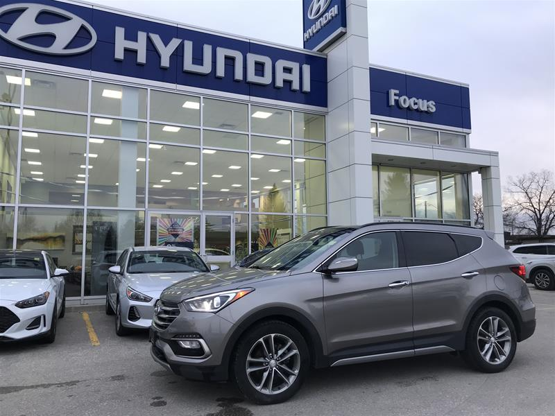 Certified Pre-Owned 2017 Hyundai Santa Fe Sport AWD 2.0T Limited