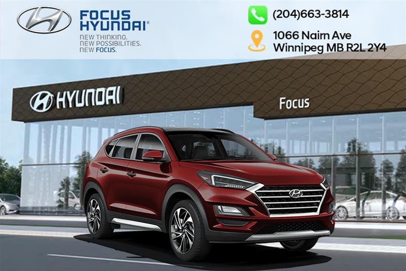 New 2020 Hyundai Tucson AWD 2.4L Luxury