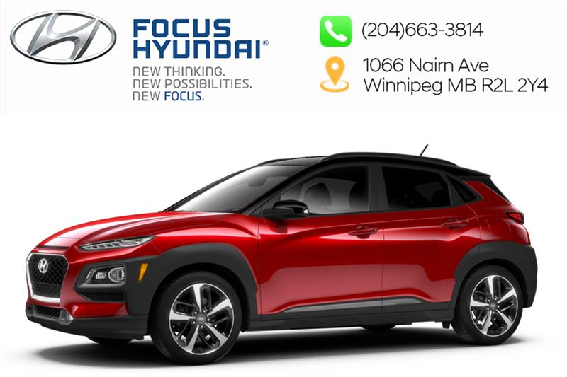 New 2019 Hyundai Kona 1.6T AWD Trend Two-Tone