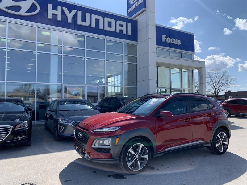 Certified Pre-Owned 2019 Hyundai Kona 1.6T AWD Ultimate