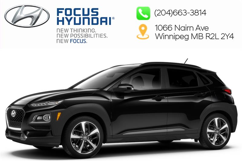 New 2019 Hyundai Kona 2.0L AWD Luxury