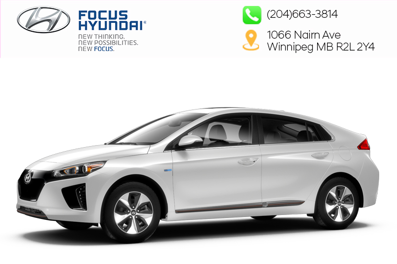 New 2019 Hyundai Ioniq EV Ultimate - White