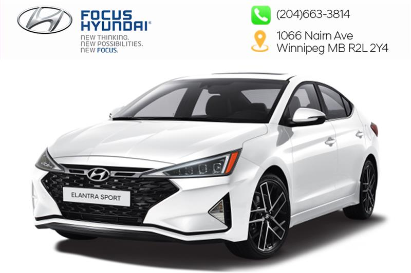 New 2019 Hyundai Elantra Sedan Sport - MT