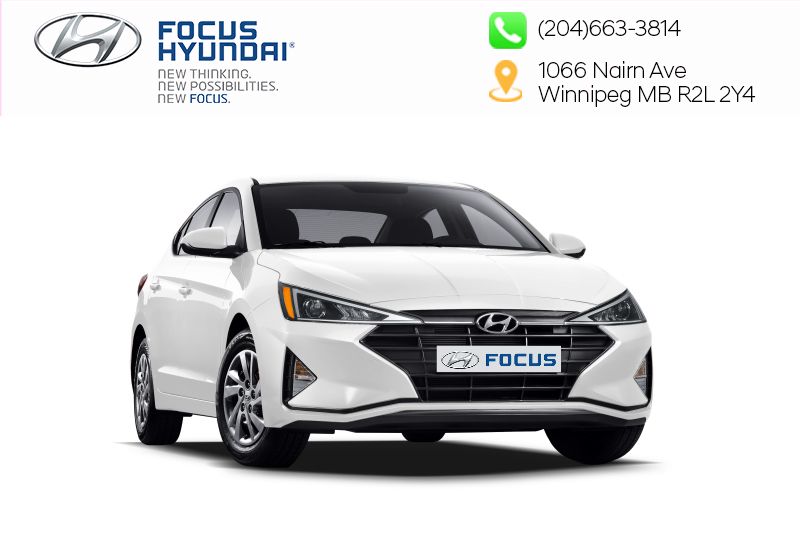 New 2019 Hyundai Elantra Sedan Preferred at