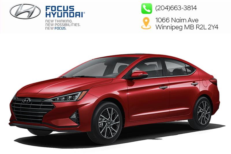 New 2020 Hyundai Elantra Sedan Ultimate IVT