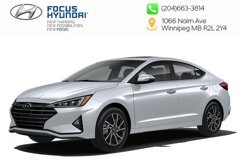 New 2020 Hyundai Elantra Sedan Preferred IVT Sun and Safety