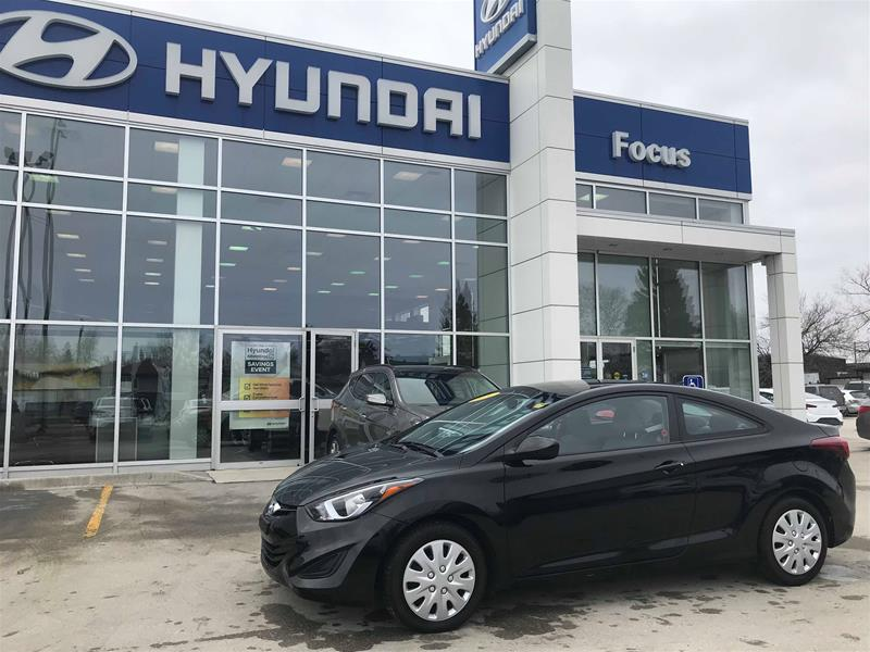 Pre-Owned 2014 Hyundai Elantra Coupe GL at