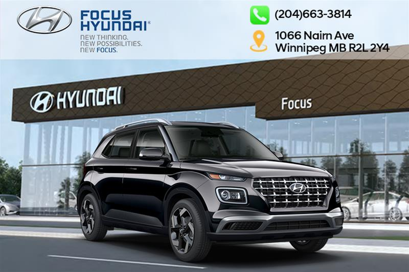 New 2020 Hyundai Venue FWD Essential IVT
