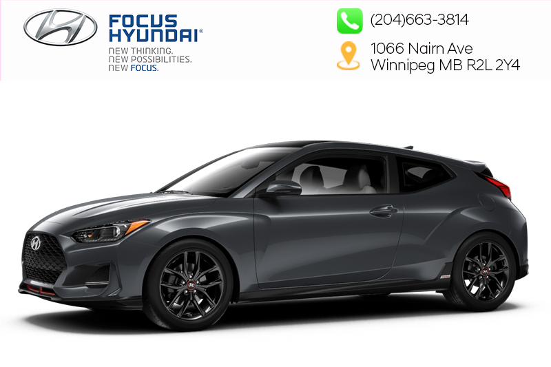 New 2019 Hyundai Veloster Base At