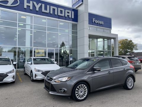 Pre-Owned 2012 Ford Focus Titanium Hatchback