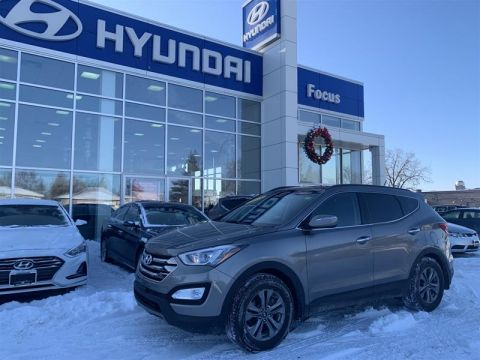 Pre-Owned 2015 Hyundai Santa Fe Sport 2.4L AWD Luxury