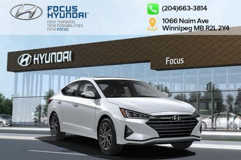 New 2020 Hyundai Elantra Sedan Luxury IVT