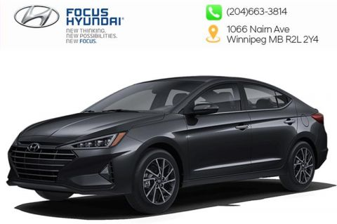 New 2020 Hyundai Elantra Sedan Preferred IVT