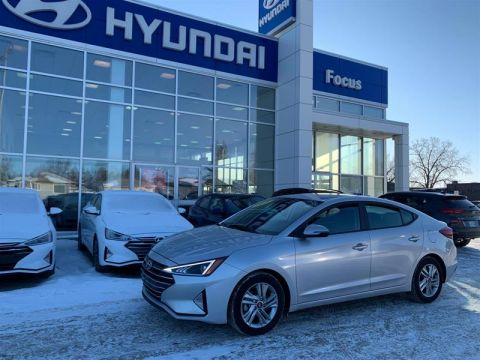 Certified Pre-Owned 2019 Hyundai Elantra Sedan Preferred at